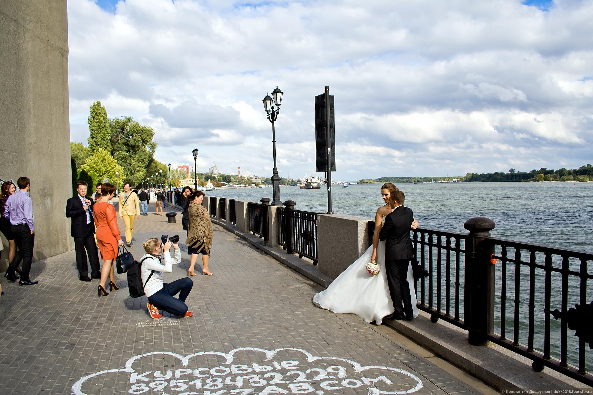 ростов на дону места для свадебных фотосессий