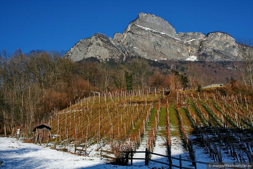 гребень вершины Гонзен ( Gonzen) 1830m