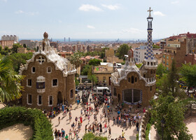Барселона, парк Гуэля (Park Güell)