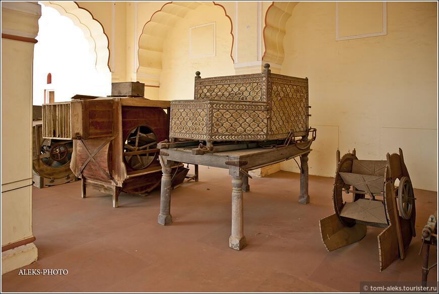 В форте сохранились предметы утвари тех времен...