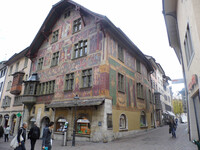 Шаффхаузен — город эркеров и скамеек