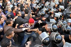 Полиция Египта применила огнестрельное оружие против демонстрантов