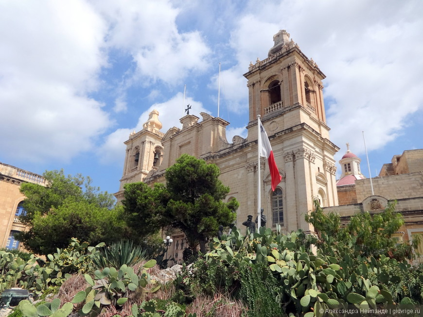 Три города. Витториоза - Собор Святого Лаврентия.