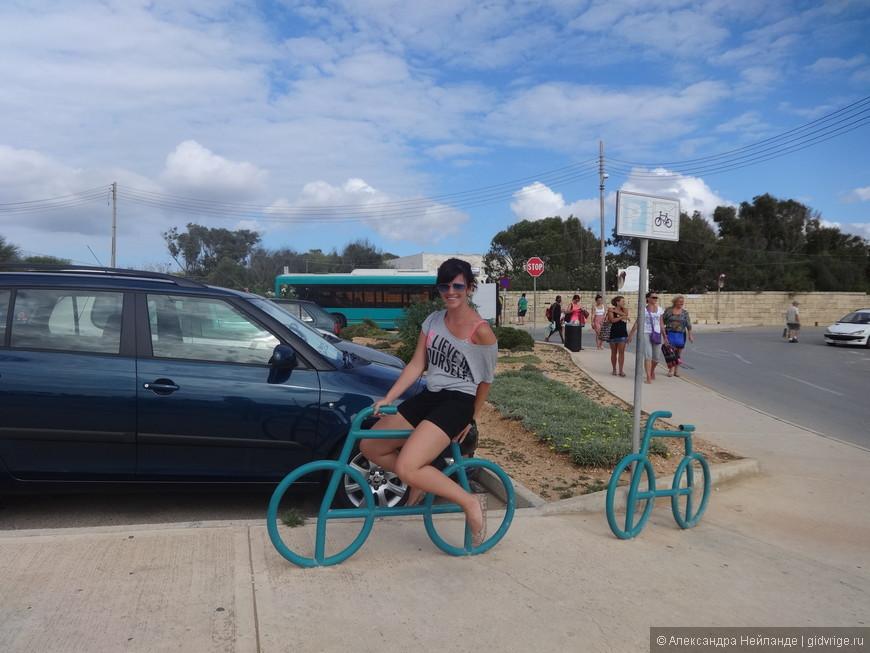 Велосипед, изобретенный на Мальте.