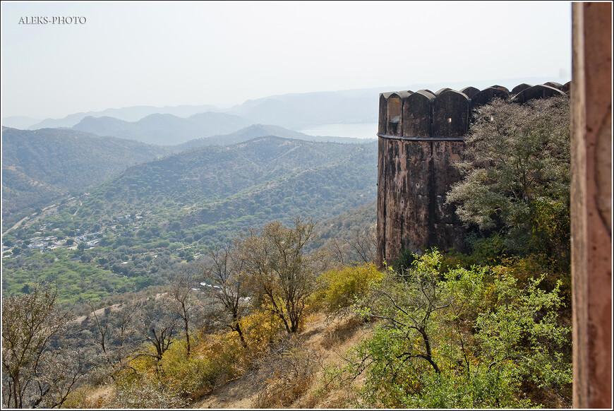 Типичный раджастанский пейзаж...