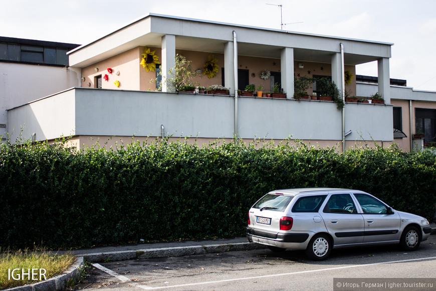 домик в индустриальном стиле где живут хозяева маленькой фабрики что во дворе