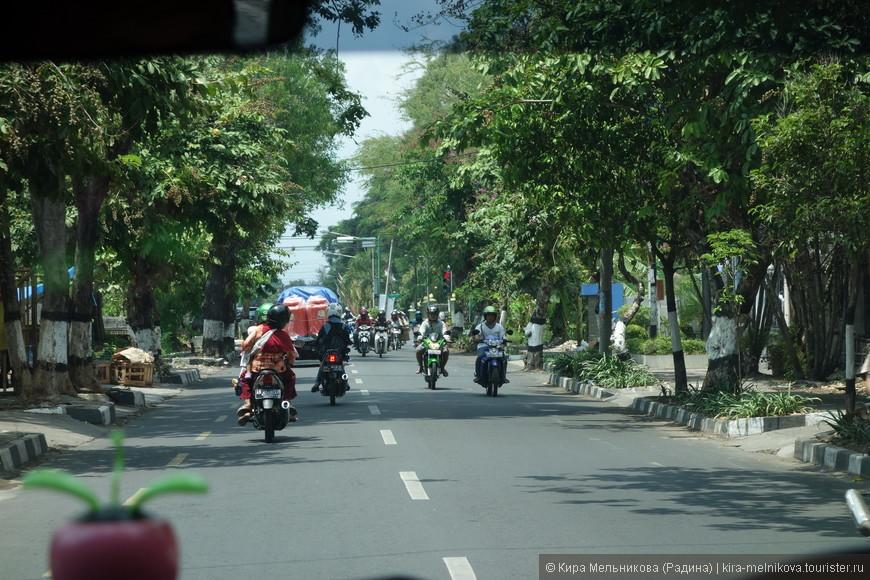 Час лёта от Бали и мы на Яве. Держим путь, чтобы начать осмотр острова.