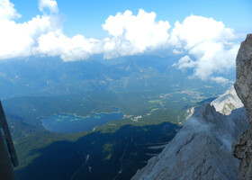 Tet-a-tet с Баварией & Австрией. Цугшпитце в тумане