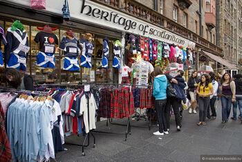 Шоппинг в Эдинбурге
