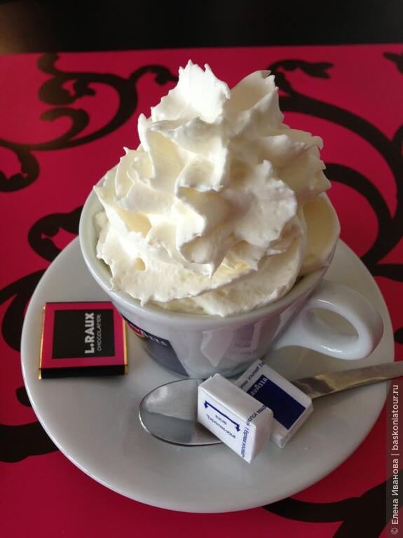 кофе в баре отеля 7 евро