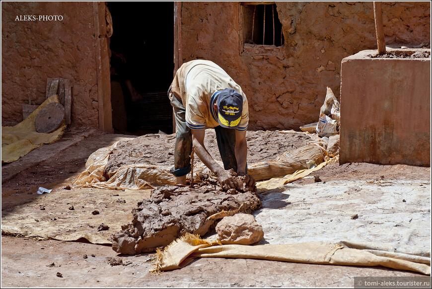 Чтобы глина ожила - в нее надо вдохнуть тепло человеческих рук...