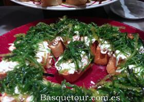 Баскские закуски-пинчос.