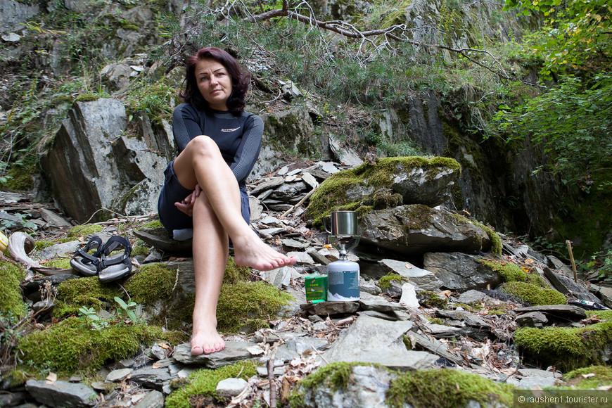 Чаепитие в горах...