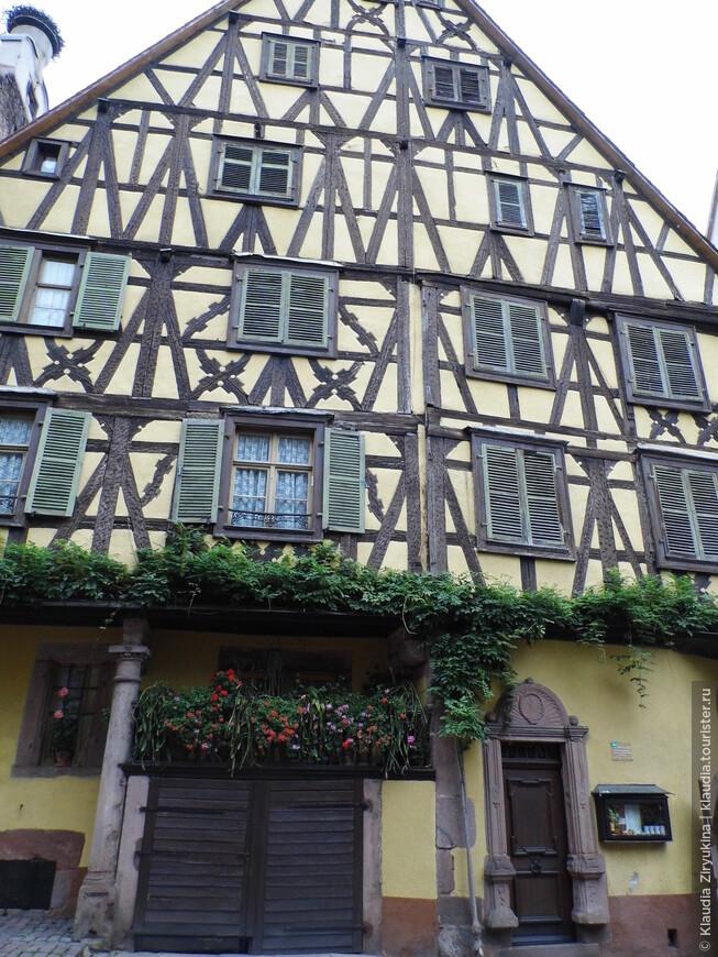 Классическая немецкая архитектура -- фахверк.