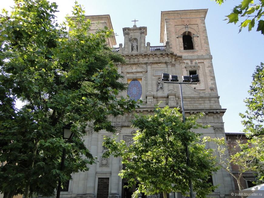 Церковь Сан Ильдефонсо 18 век.