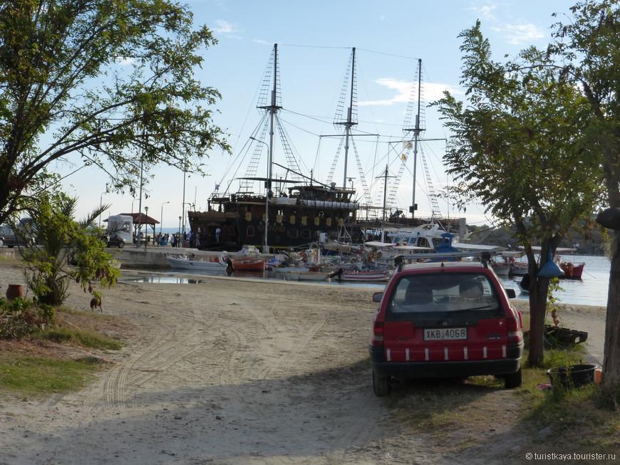 Кораблик для путешествия