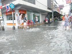 В Таиланде опять затопило Паттайю