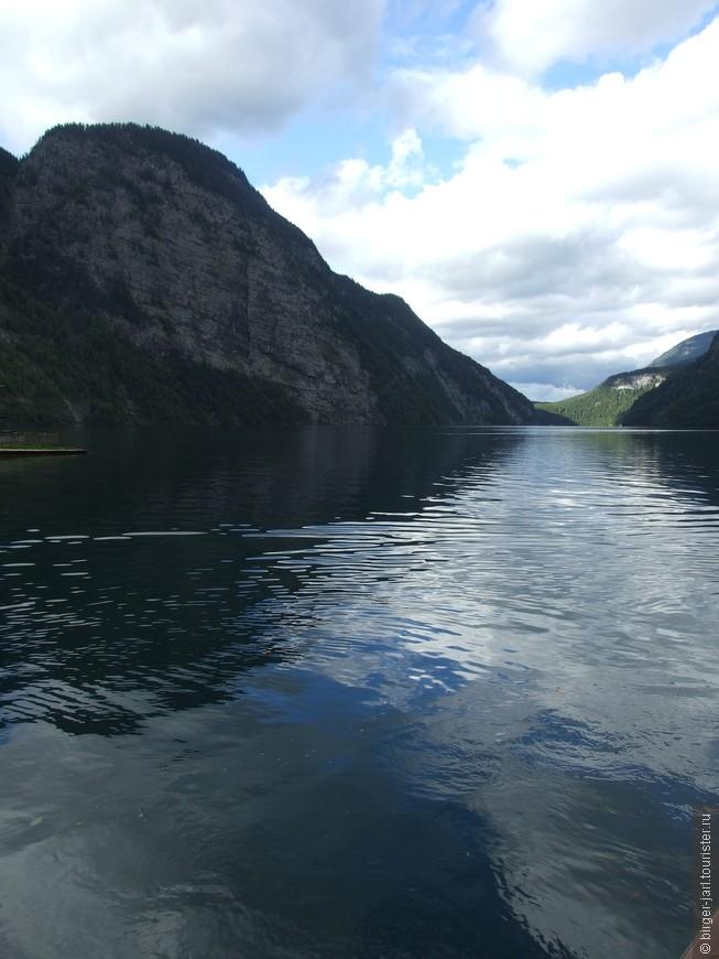 Озеро Кёнигсзее.