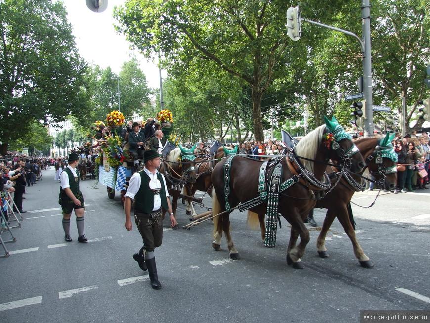Открытие фестиваля Oktoberfest - 21 сентября.