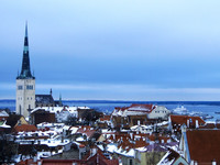 Таллин в феврале: зимняя сказка