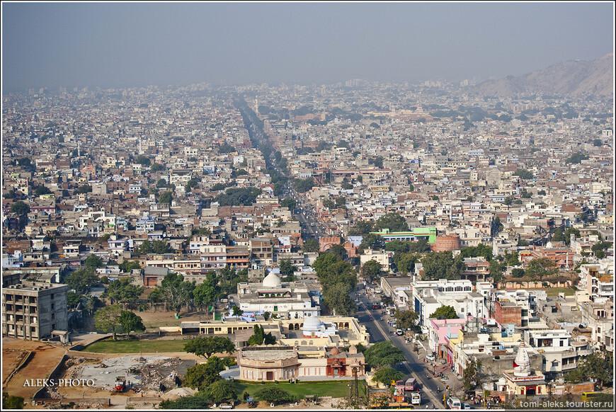 Улицы Джайпура...
