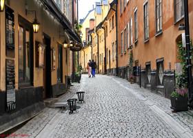 Швеция. Стокгольм. Старый город