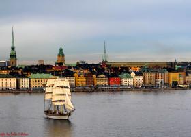 Швеция. Стокгольм-город на воде