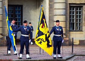 Швеция. Стокгольм. Маленький парад