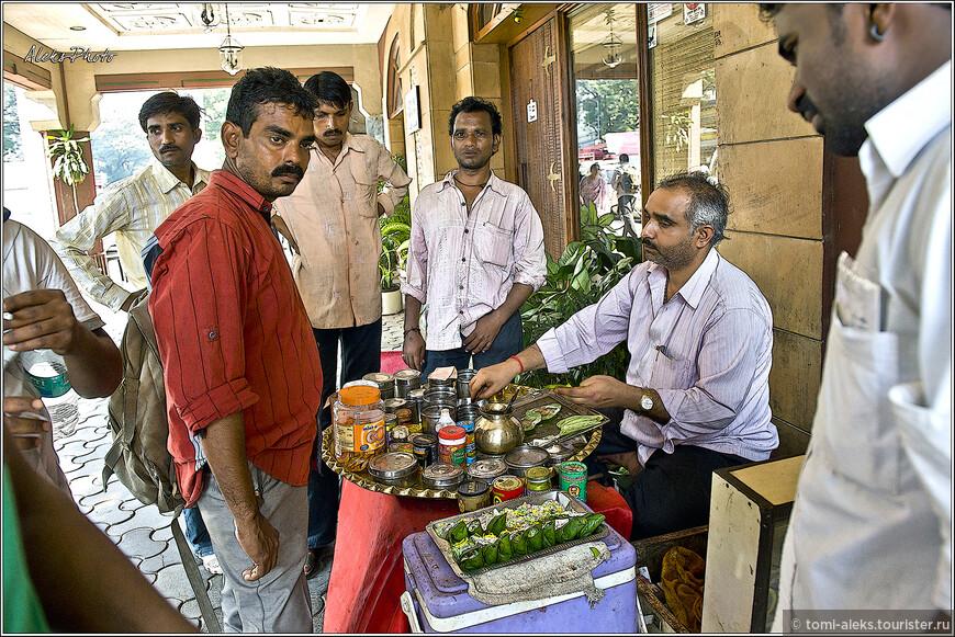 Любят индийцы церемониалы устраивать со всякими штуками...