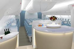 Airbus предложила изменить стандарты комфорта в самолетах