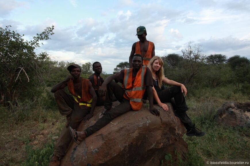 некоторые танзанийцы любят фотографироваться. Да и фотографировать они тоже любят!