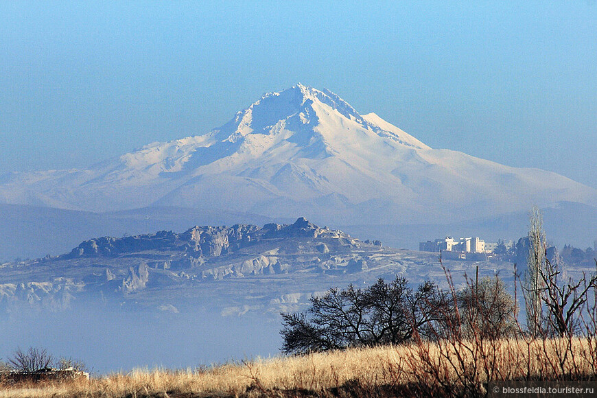 конец Долины Любви. И вид на вулкан Эрджияс