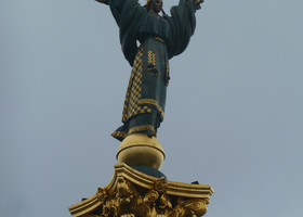 Київ у жовтні.
