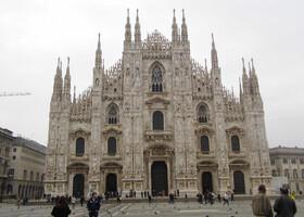 Утро в Милане.