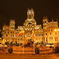 Огни Мадрида
