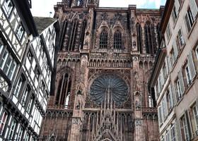 Кафедральный Собор Страсбурга - чудо как хорош!