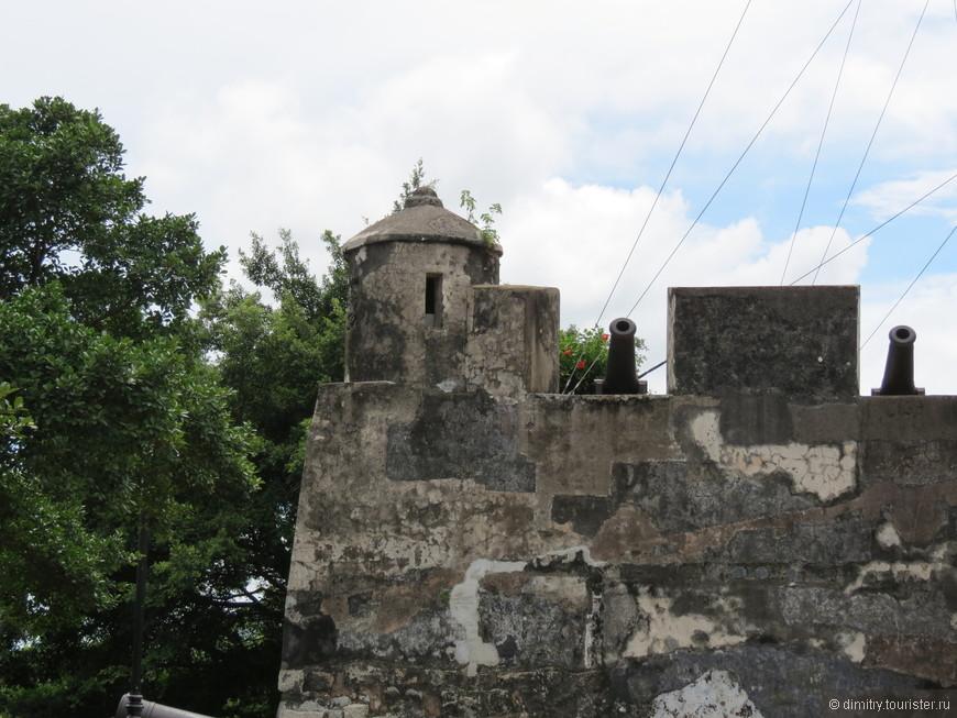 Все португальские форты похожим друг на друга.