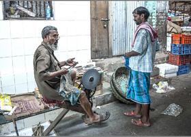 Будни рынка Кроуфорд (Индия)