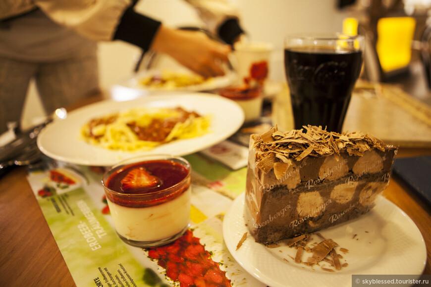 кафе «Розенбергер» (Rosenberger Markt - Maysedergasse 2, 1010 Wien, Österreich) Здесь берешь блюда по принципу самообслуживания.