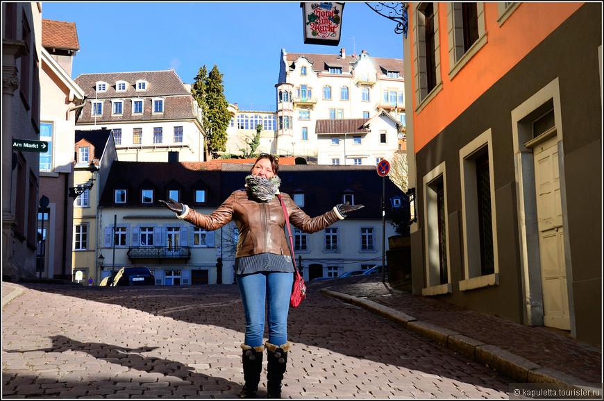 Мы жили в прекрасной гостинице Rathausglockel, находящейся в 2 минутах ходьбы от купален.