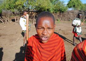 Люди в Кении