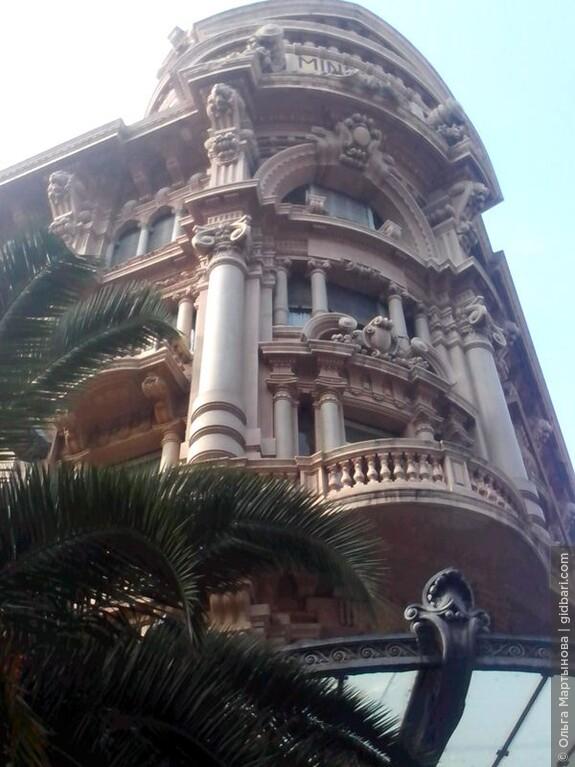 Величественный Дом Минкуцци (Palazzo Mincuzzi), построенный в 1920-х годах