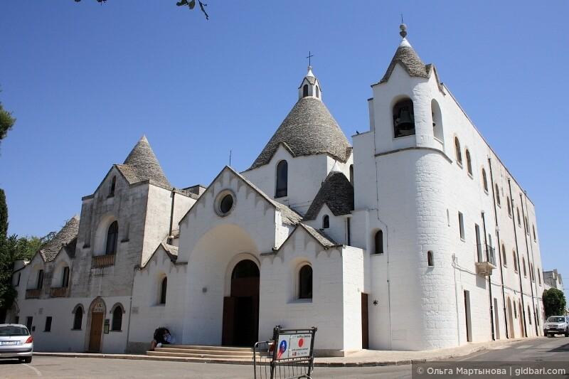 церковь Св. Антонио