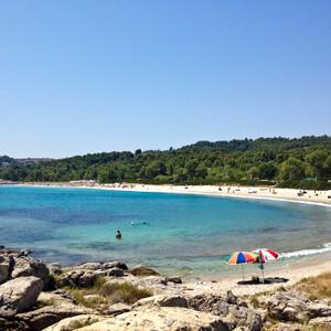 Вот такой вот пляж.