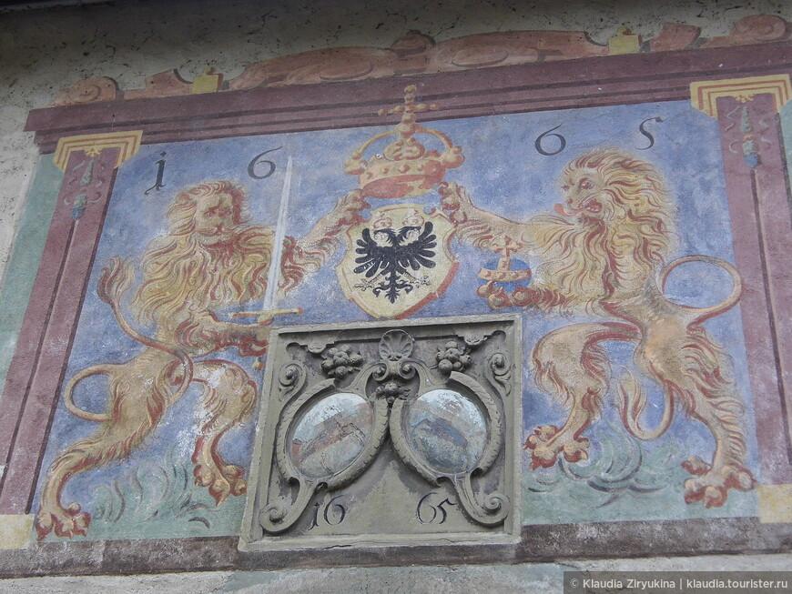 Фрески  16-17 веков.