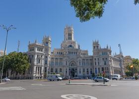 Мадрид: Palacio de Cibeles