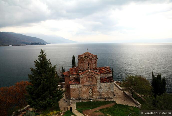 Самая известная церковь в Охриде - святого Иоанна Богослова