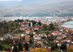 Вид на город с Самуиловой твердыни