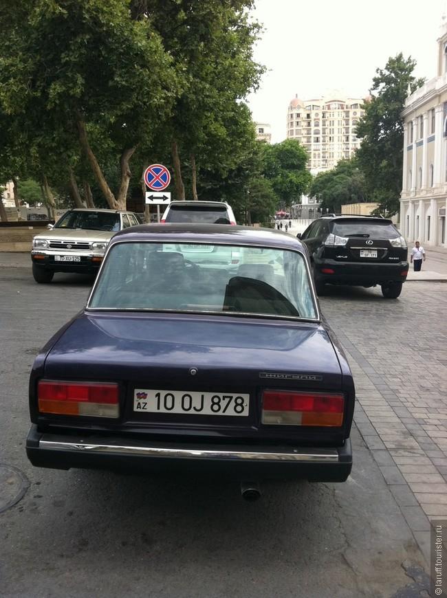 """Каждый уважающий себя молодой бакинец должен иметь автомобиль ВАЗ2107. Управлять им можно только максимально выставив локоть из окна и только с магнитолой, работающей на полные обороты. Мой водитель ласково называл их """"гамиказе""""))"""