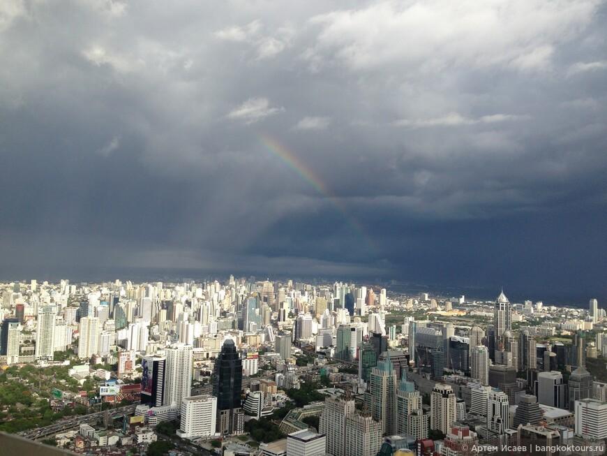 Вид с 84 этажа о. Байок Скай, г. Бангкок, Королевство Таиланд.